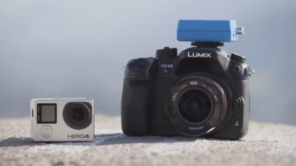 GoPro&一眼カメラに後付け手ぶれ補正という魔術礼装を