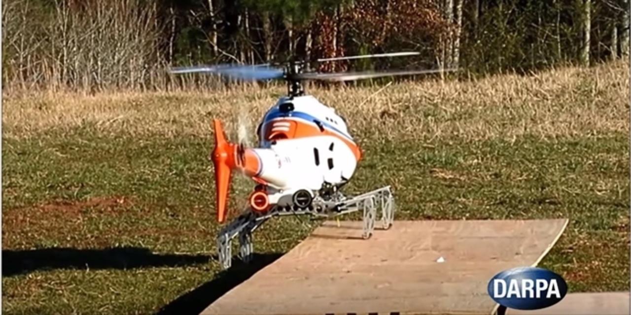 まるで昆虫。足つきヘリコプターをDARPAが実験中