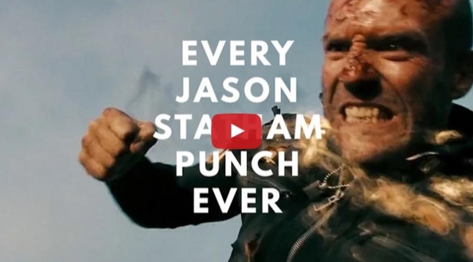 殴って殴って殴りまくる。ひたすらステイサム兄貴のパンチを堪能するビデオ