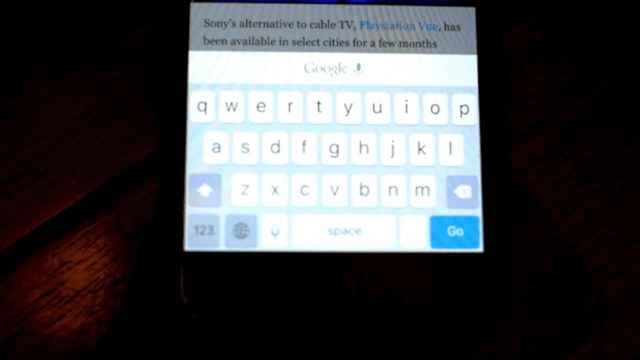iOS 9の小文字キーボードがしっくりこない方へ