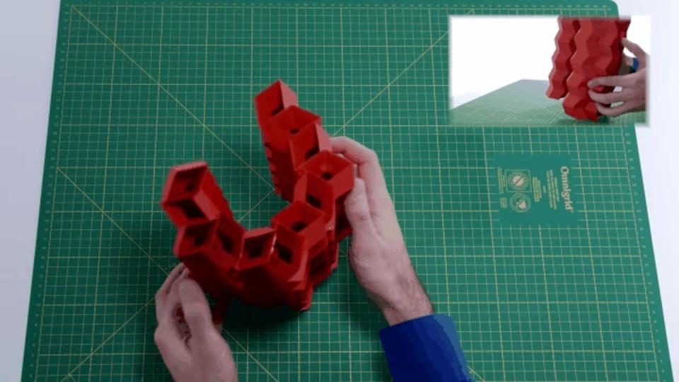 世界のORIGAMIはすごい。超頑丈で伸縮自在の折り紙構造物
