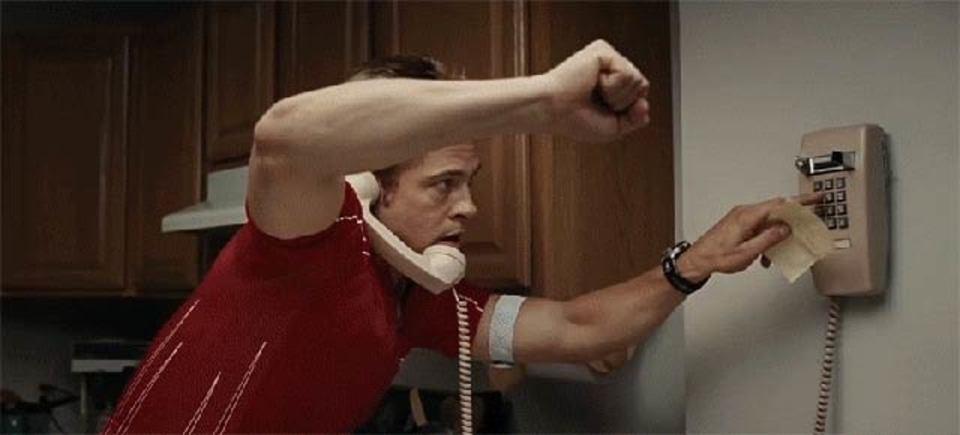 マトリックスからBTTF、映画から映画へ電話をかけまくる動画