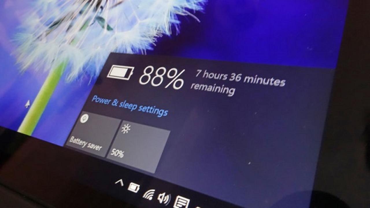 Windows 10でバッテリー長持ちさせる6つの小技