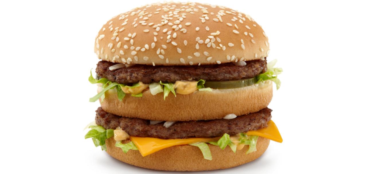 ビッグマックを食べて1時間であなたの体に起こっていること