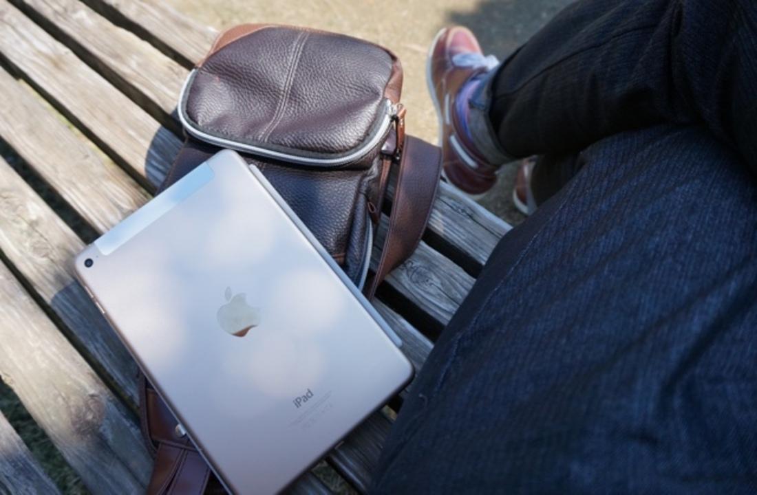 iPad mini 4レビュー:お出かけしたくなる、まるで恋をしたような気分
