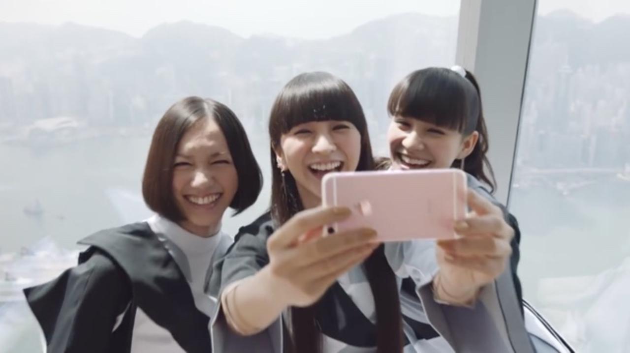 iPhone 6sプロモーションビデオのPerfumeがあまりにも楽しそうだったので…