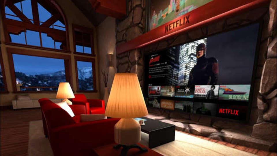 NetflixをGear VRで見ると、現実が退屈になる