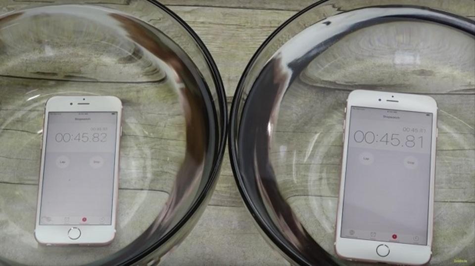 iPhone 6s/6s Plus、けっこう水に強いみたい?