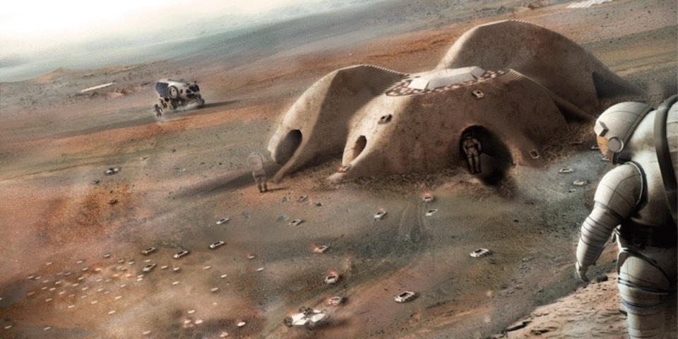 水もあったことだし、そろそろ火星の家でも考えますか