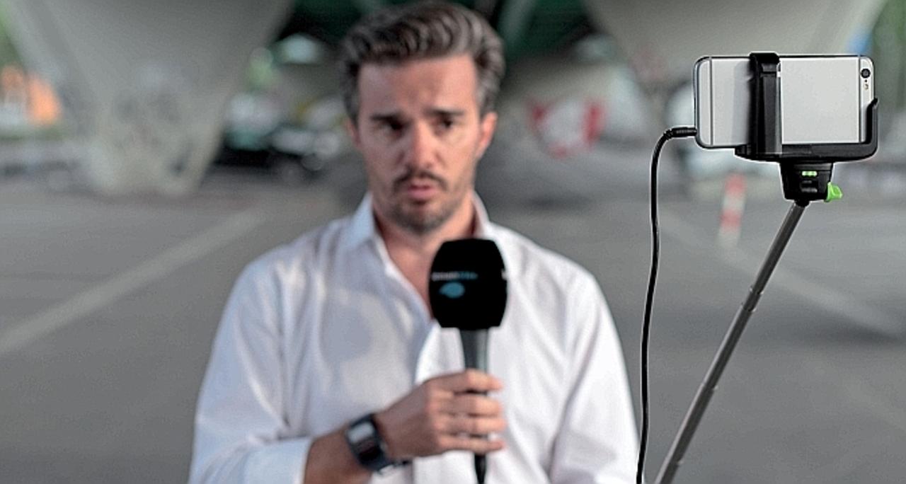 スイスのテレビ局、報道カメラをiPhoneに変える