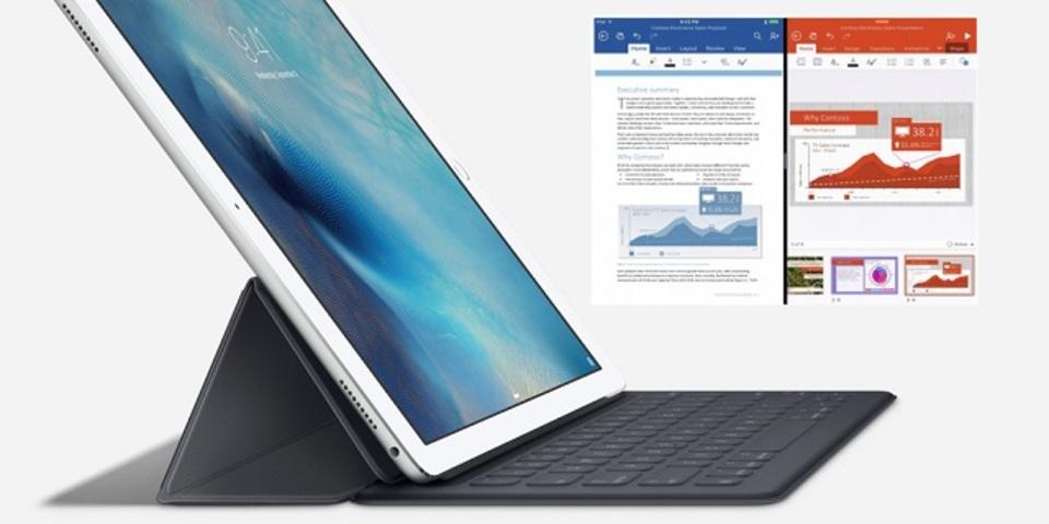 OfficeアプリがiOS 9やApple Pencilに対応します