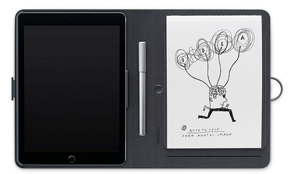 ワコムから、紙に書いてクラウド同期するデジタルノート「Bamboo Spark」登場