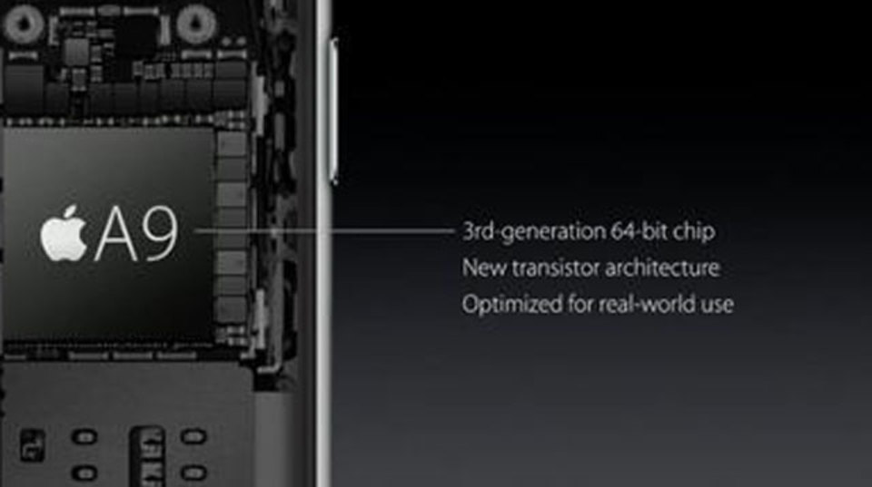 iPhone 6sには新世代チップ「A9」64bitプロセッサが搭載。これまでの70%速くなる!