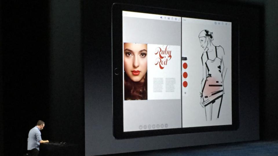 アップルの発表会でお披露目されたAdobeの新しいアプリ「Photoshop Fix」