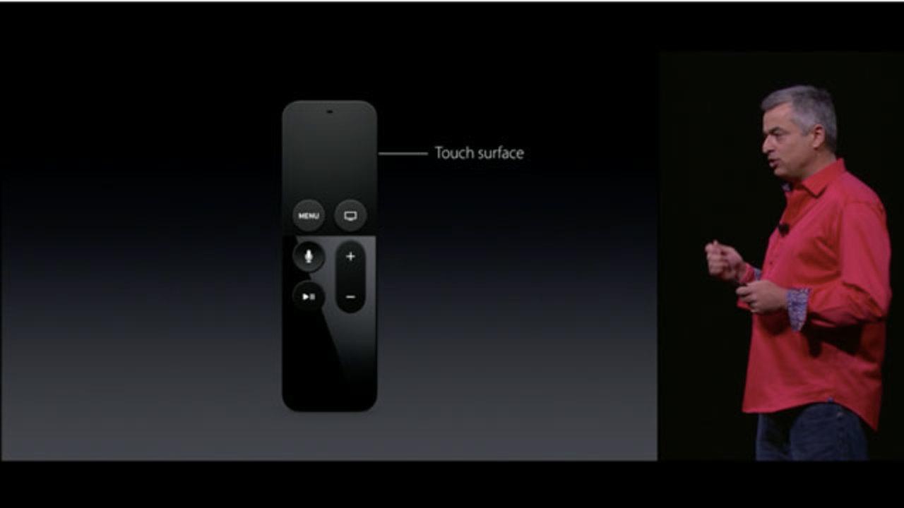 新Apple TVのリモコンは超かしこい。Siriとタッチ対応に!