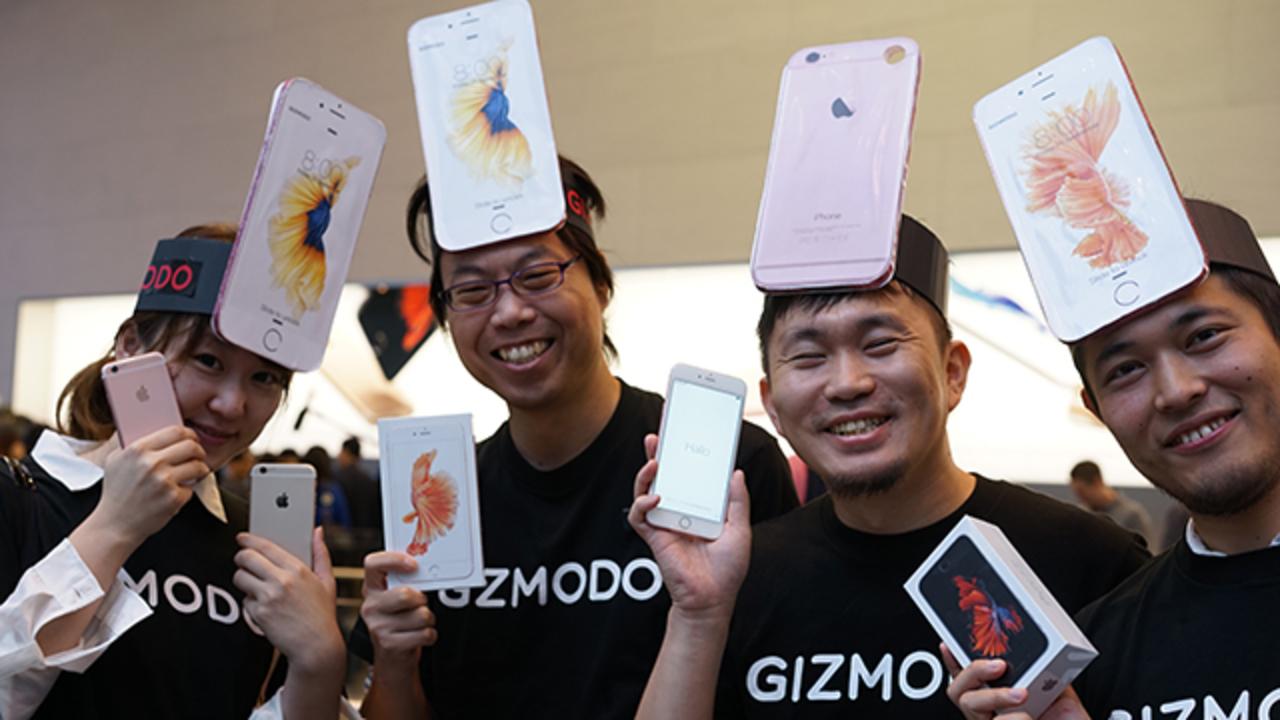 iPhone 6s、アップルストアで無事にゲットしてきました!!