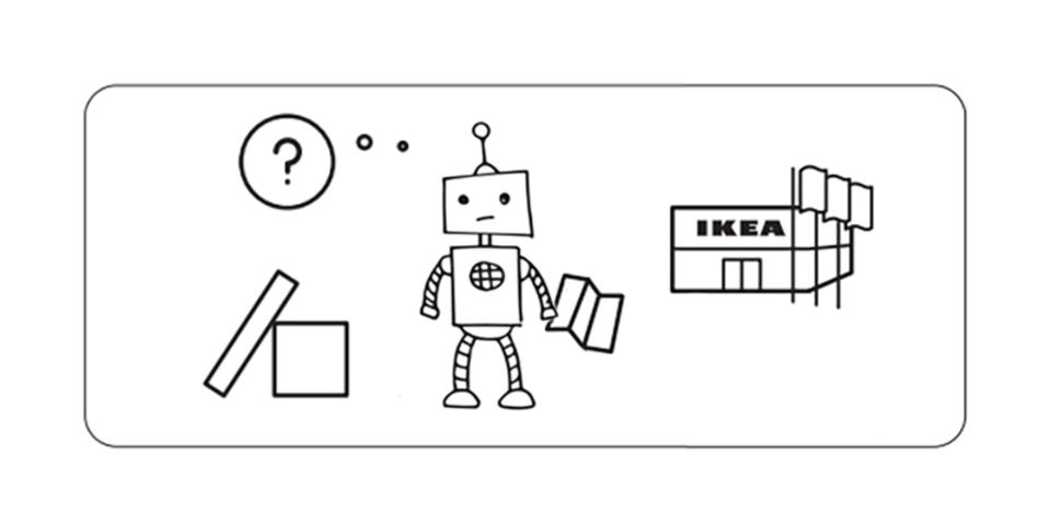ロボットでもIKEAの家具を組み立てるのはヘタみたい