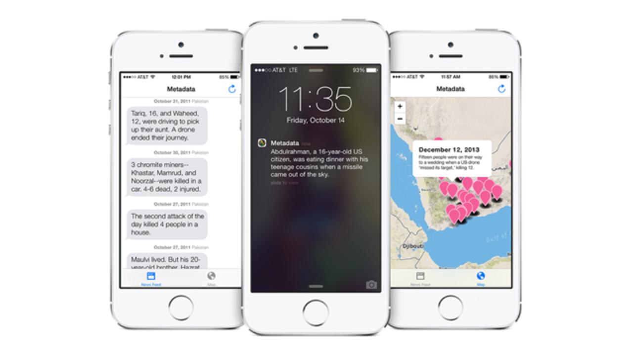 軍事用ドローンが人を殺した場所を示すアプリ、App Storeから締め出される