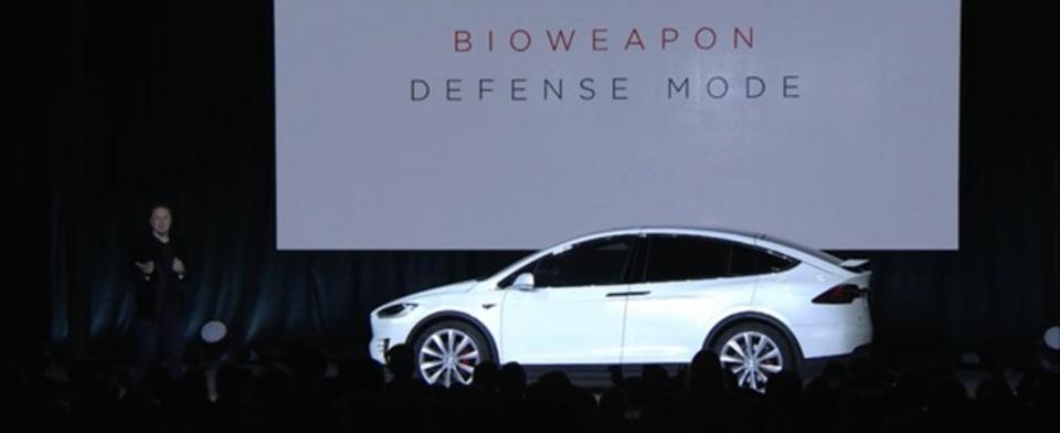 生物兵器からの防衛モードも装備。ファルコンウィングの爆速SUVテスラ「モデルX」発売