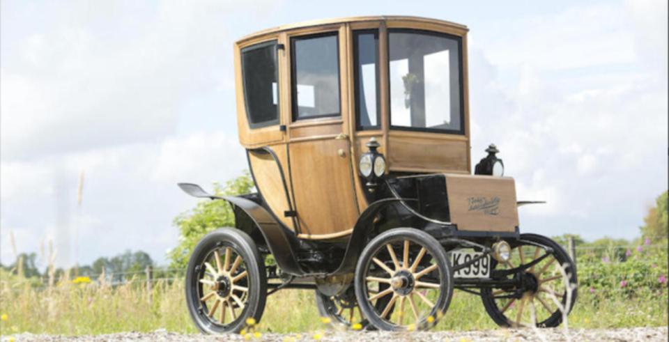 電気自動車にもビンテージ物が出てくる時代になりました