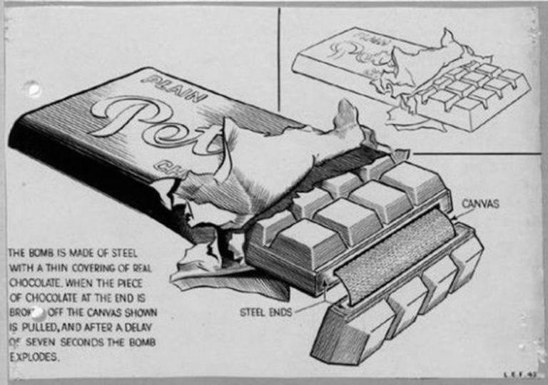WW2時のドイツの爆弾カモフラージュとその記録
