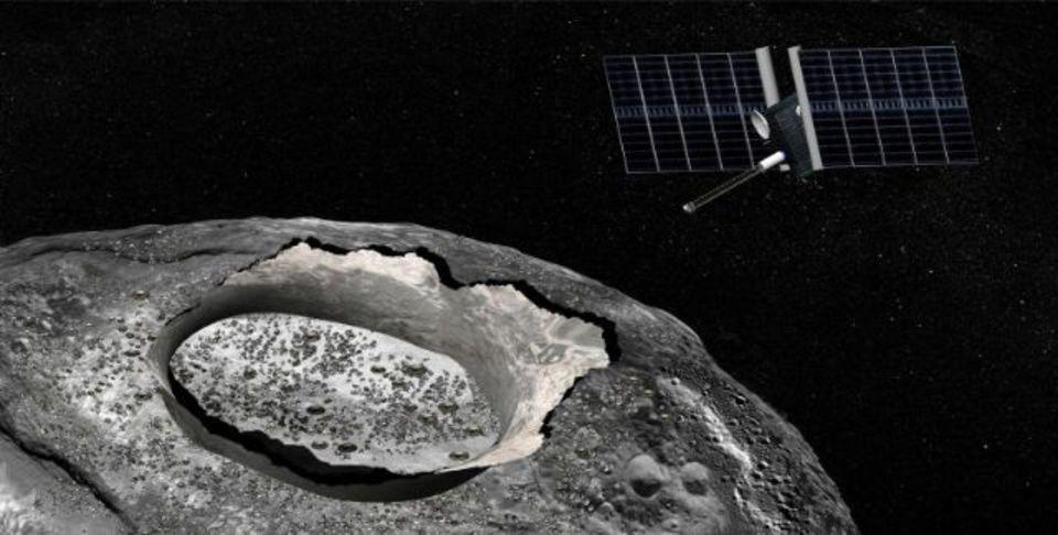 原始惑星のむき出しの核がNASAの標的に? 謎の小惑星「プシケ」