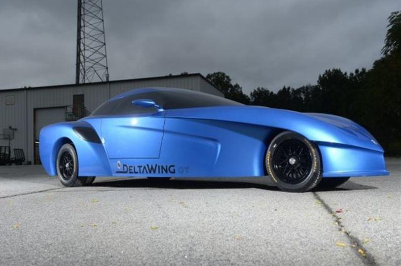 ロケットかそれともバットモービルか。デルタウイング市販車計画
