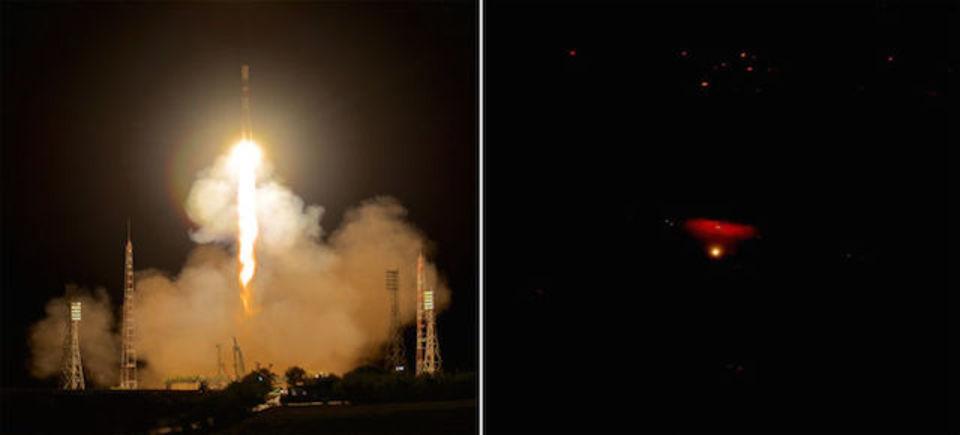 大量の物資を搭載した宇宙船、ISSに無事到着