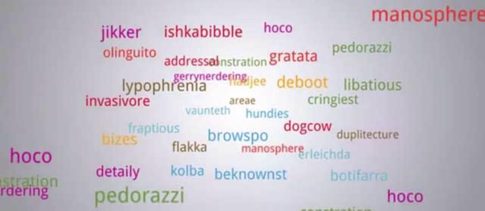 ネット用語を辞書にまとめるべき、という取り組み