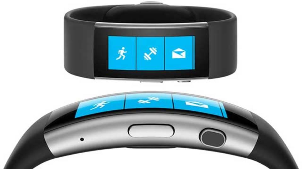 Microsoft Band新モデルは、曲面ディスプレイ搭載
