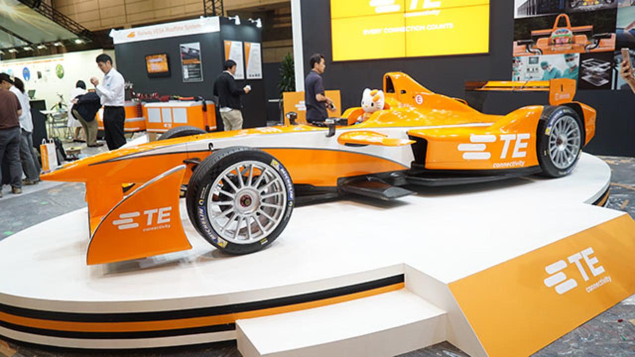 電気自動車のF1、フォーミュラEのマシンがCEATECに!#CEATEC2015