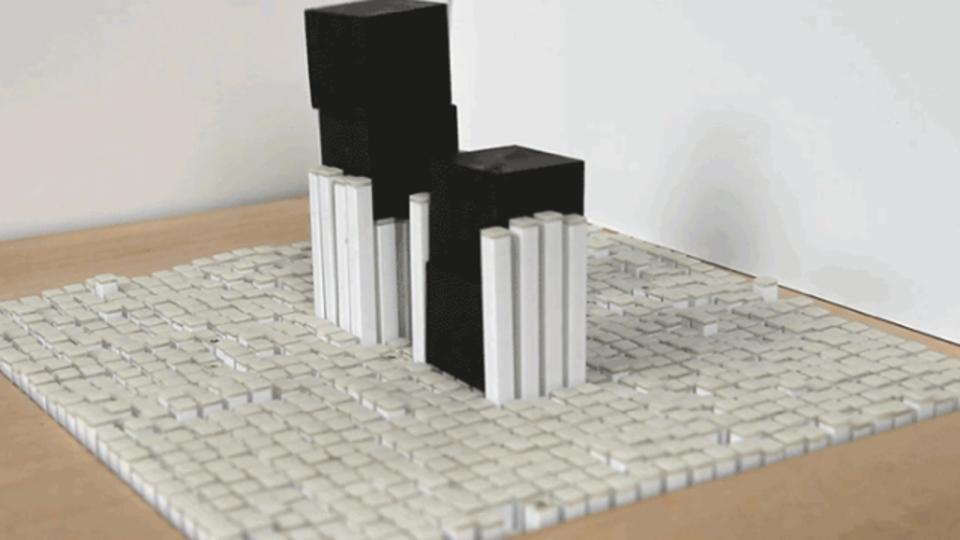 動くテーブルが賢くなって箱を縦に積み上げられるようになった