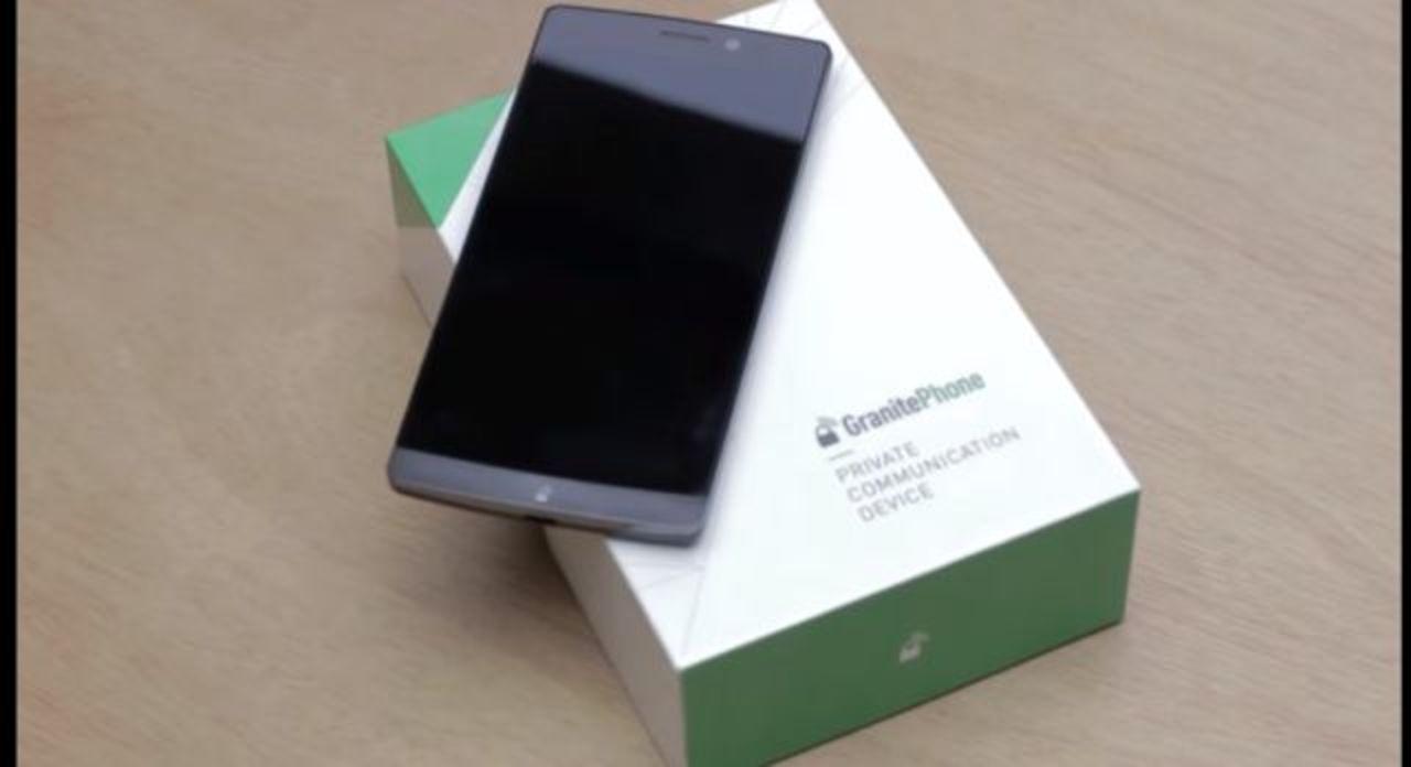 セキュリティ特化スマホ「GranitePhone」は値段もお高目