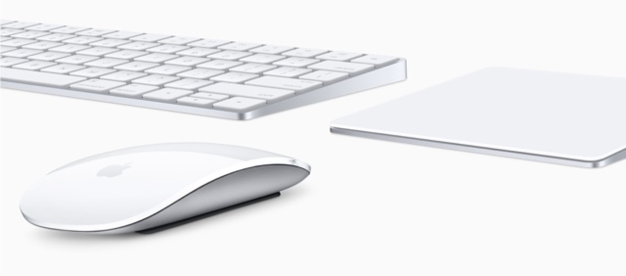 周辺機器もリニューアル「Magic Keyboard」「Magic Mouse 2」「Magic Trackpad 2」が登場