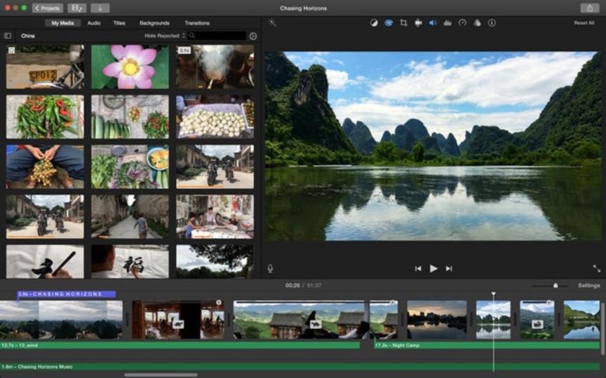 Mac版「iMovie」が4K対応へ