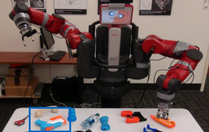 研究結果:ロボットがモノをつかめるようになるまで10日かかる