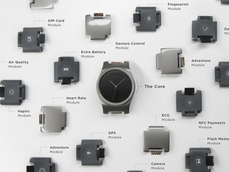 バッテリーからセンサーまで組み立て可能なスマートウォッチ「BLOCKS」がKickstarterにやってきた!