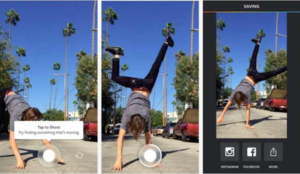 Instagramから新アプリ登場。超ミニ動画を作る「Boomerang」