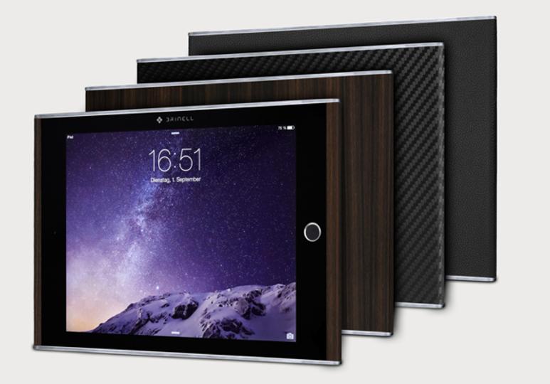 ウッディ/レザーでワイヤレス充電対応のiPad Air 2が発売!