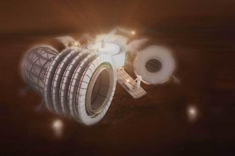 火星の「シリカバレー」に見る、火星の住宅事情