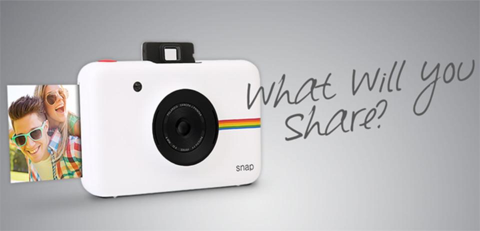 アナログとデジタルの上手なミックス「Polaroid Snap」いよいよ発売
