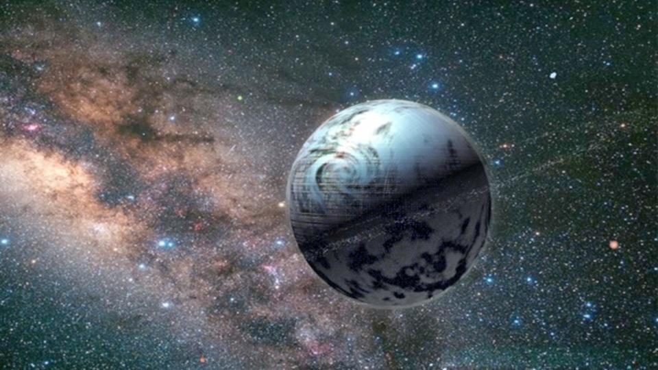 遠い星の光が宇宙人の巨大構造物に遮られる確率を論考