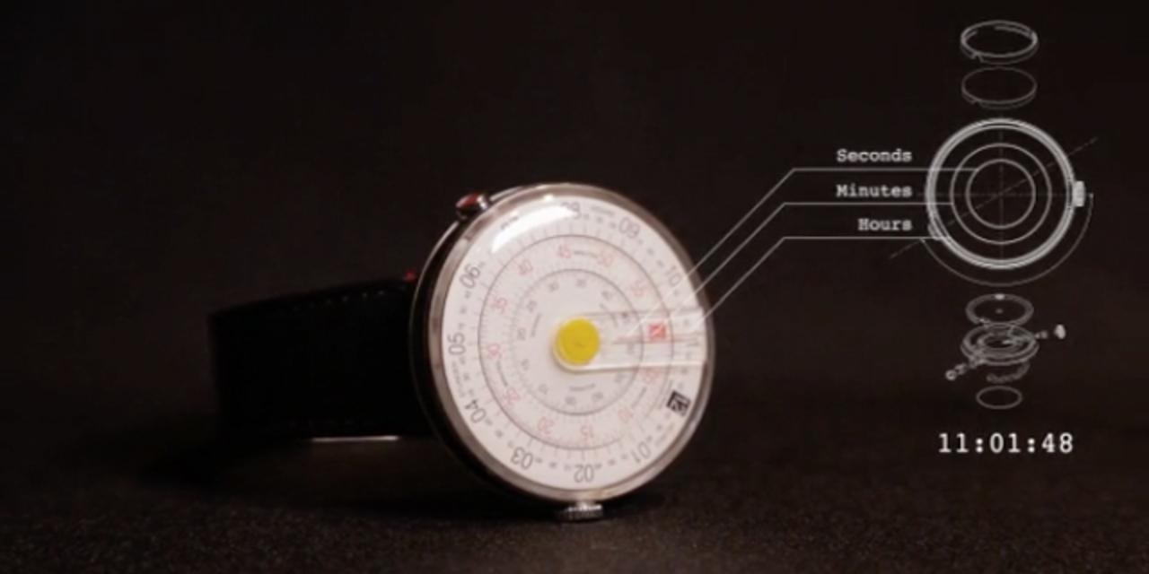 時計の概念を変えるかもしれない時計「klokers」