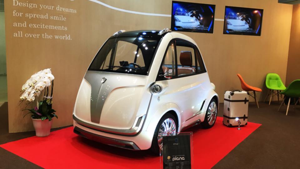 東京モーターショーに未来の移動ツール、超小型モビリティが勢ぞろい!