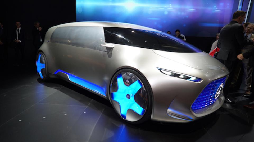 さらなる未来感。メルセデス・ベンツ、東京モーターショーで「Vision Tokyo」を発表