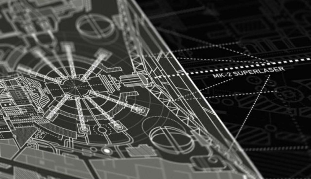 「スター・ウォーズ」の宇宙要塞、デス・スターの超緻密な設計図が制作中