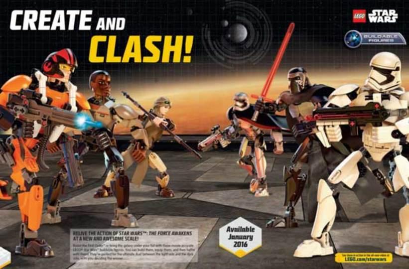 味方も敵もみんなレゴに! 「フォースの覚醒」公式レゴフィギュア