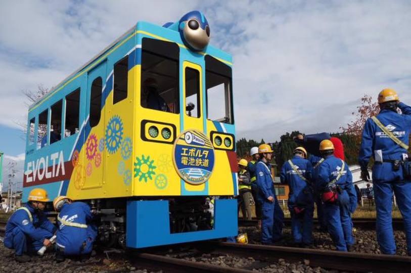 【更新終了】ギネス世界記録達成! 日本の高校生が乾電池で電車を動かす「エボルタチャレンジ2015」