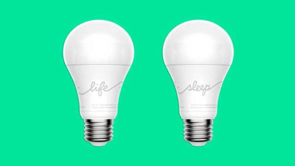 健康な生活はスマートな電球から