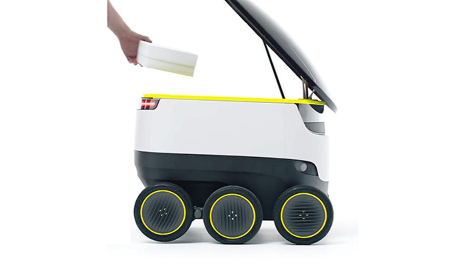 ドローンは忘れろ! 次世代配達マシーンは歩道を走るロボット